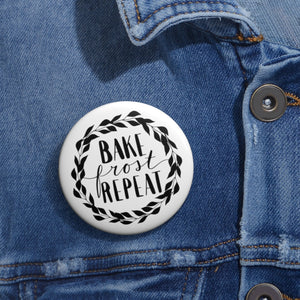 (a) Bake Frost Repeat Pin Button