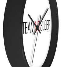 Load image into Gallery viewer, Team No Sleep 10 inchWall clock
