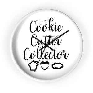 Cookie Cutter Collector Wall clock