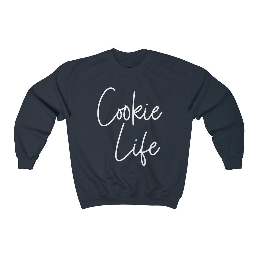 Cookie Life Unisex Heavy Blend Crewneck Sweatshirt