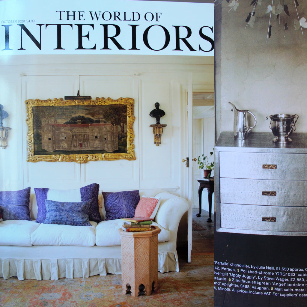 Featured in October's world of interiors magazine