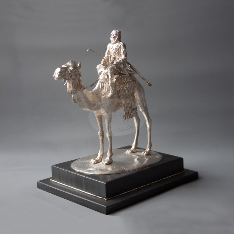 CAMEL AND RIDER