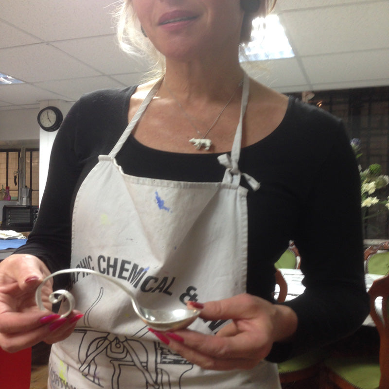 Michelle<br>Spoon Making Course