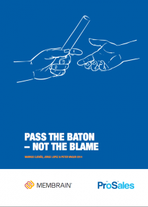 Pass The Baton – Not The Blame