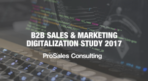 B2B Sales and Marketing Digitalization Study