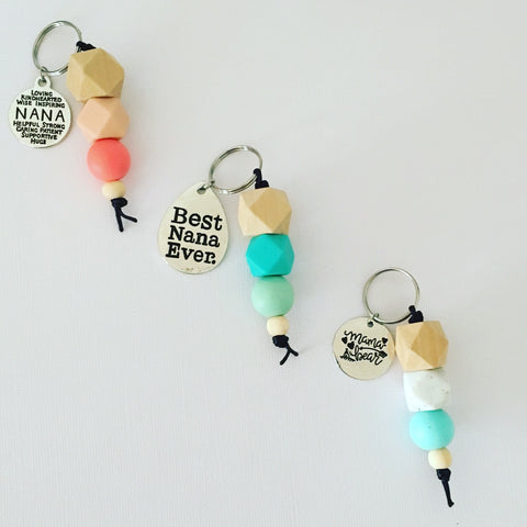 Mother's Day keyrings