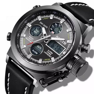 Multi-Functional Military Sports Watch (Dual-Display)