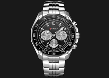 Load image into Gallery viewer, Full Stainless Steel Watch