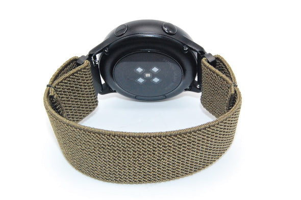 Commando - 18mm, 20mm, and 22mm Elastic Watch Bands (Samsung Galaxy, Garmin, Fossil, Amazfit, Huawei, and more)
