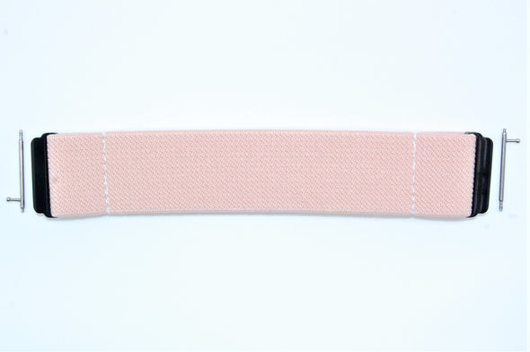 Blush - 18mm, 20mm, and 22mm Elastic Watch Bands (Samsung Galaxy, Garmin, Fossil, Amazfit, Huawei, and more)