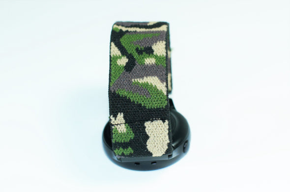 Camo - 18mm, 20mm, and 22mm Elastic Watch Bands (Samsung Galaxy, Garmin, Fossil, Amazfit, Huawei, and more)