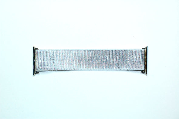 Silver Streak - Apple Watch Band