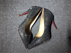 Black Red Bottom Heels