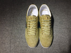 Gold Glitter Bambi sneakers