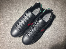 Load image into Gallery viewer, Black Gucci Sneakers