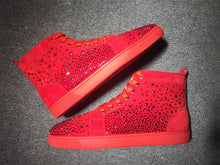 Load image into Gallery viewer, Red Red Bottoms High Top