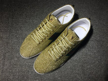 Load image into Gallery viewer, Gold Glitter Bambi sneakers