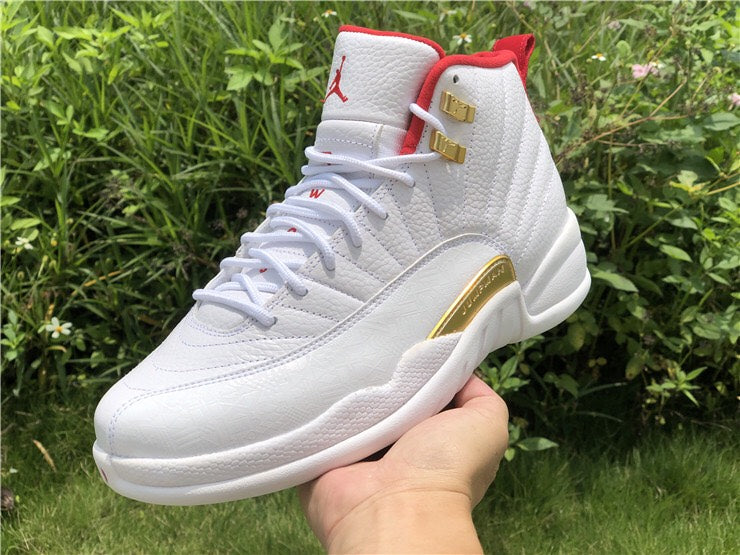 Jordan XII White and Red