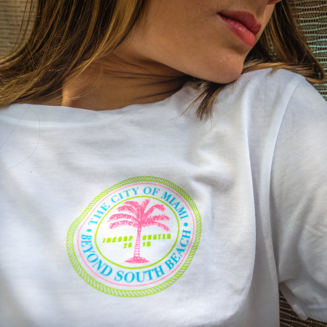 Women's City of Miami Crop