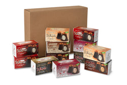 12 Dark Chocolate Whirls Premium Gift Box Bundle - (1206g)