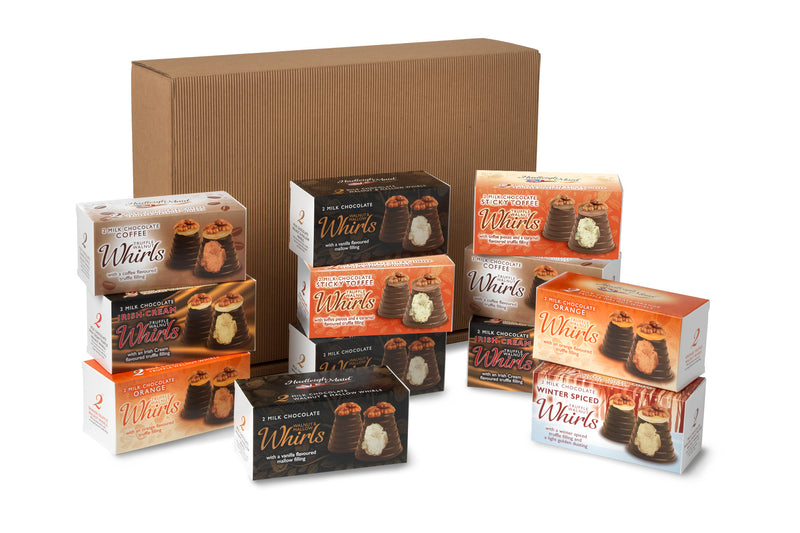 12 Milk Chocolate Whirls Premium Gift Bundle - (1269g)