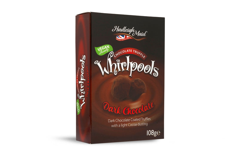 Dark Chocolate Truffle Whirlpools - (108g)