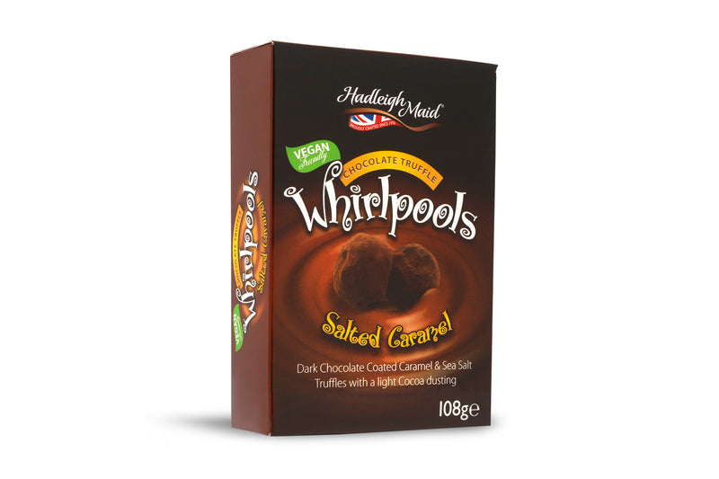 Dark Chocolate Salted Caramel Truffle Whirlpools - (108g)
