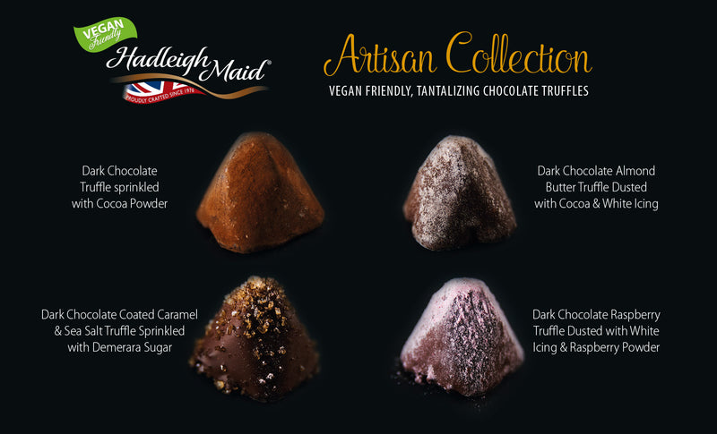 EACH VEGAN FRIENDLY Artisan Chocolate Truffle Collection (100g - 8 pieces)