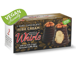 Dark Chocolate and Irish Cream Truffle Walnut Whirls - Twin Pack (90g)