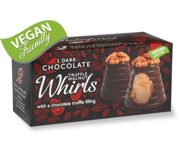 Dark Chocolate Truffle Walnut Whirls - Twin Pack (90g)