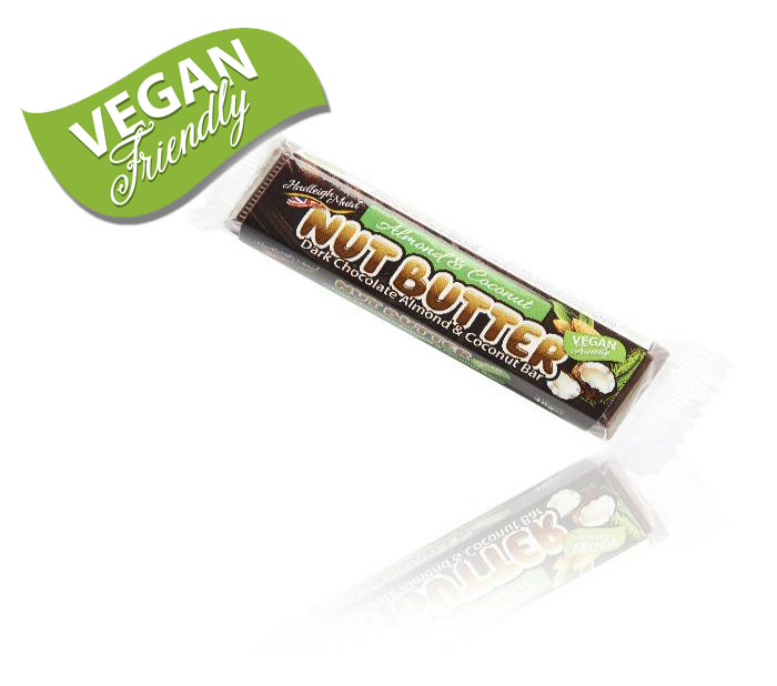 Dark Chocolate Almond and Coconut Nut Butter Truffle Filled Bar - (40g)