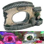 Chinese Style Yard Resin Aquarium Decoration, 6""