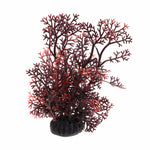 "6.5"" Artificial Coral Aquarium Decoration (Brown, Brown And Green)"