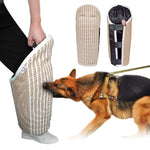Dog Bite Leg Protection Linen Toy For Trainings (Beige), 24""