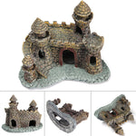 Resin Castle Towers Aquarium Decoration, 5""
