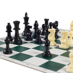 Standard Chess Board & Weighted Pieces