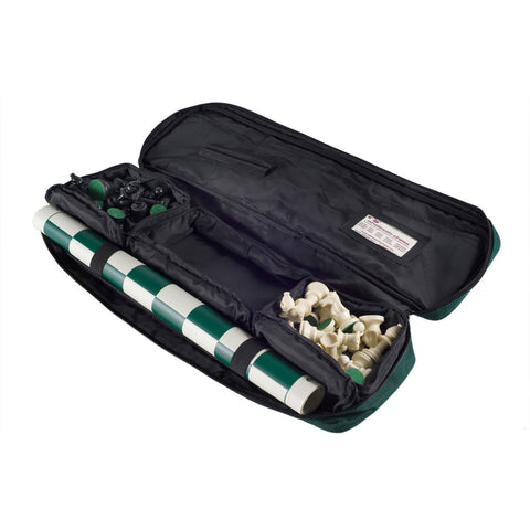 Premier Tournament Chess Bag w/ Standard Board & Pieces Combo