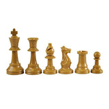 Weighted Plastic Chess Pieces: Half Set