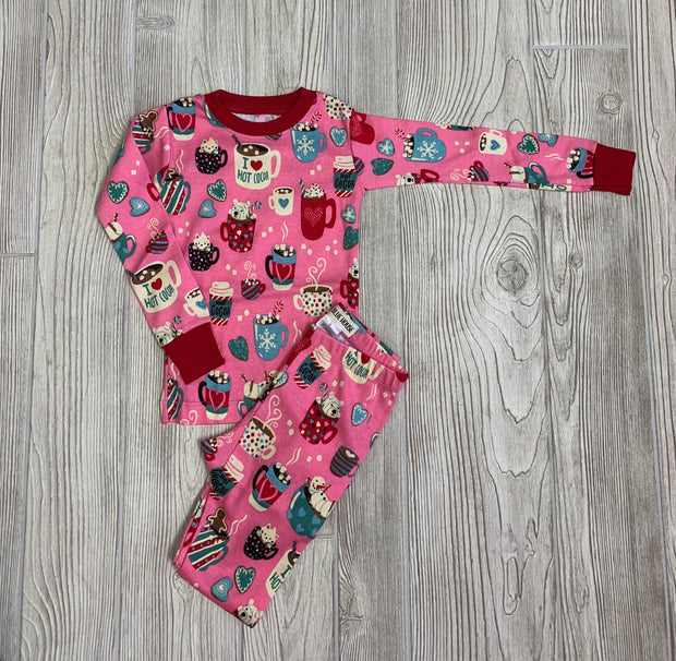 Girls Hot Cocoa Pajama Set
