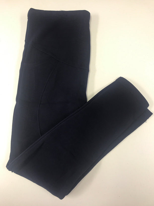 Navy Fleece Lounging Pant- One Size