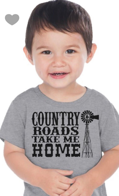 """Country Roads Take Me Home"" T-Shirt"