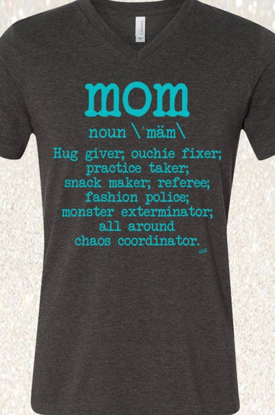 Mom V-Neck T-Shirt
