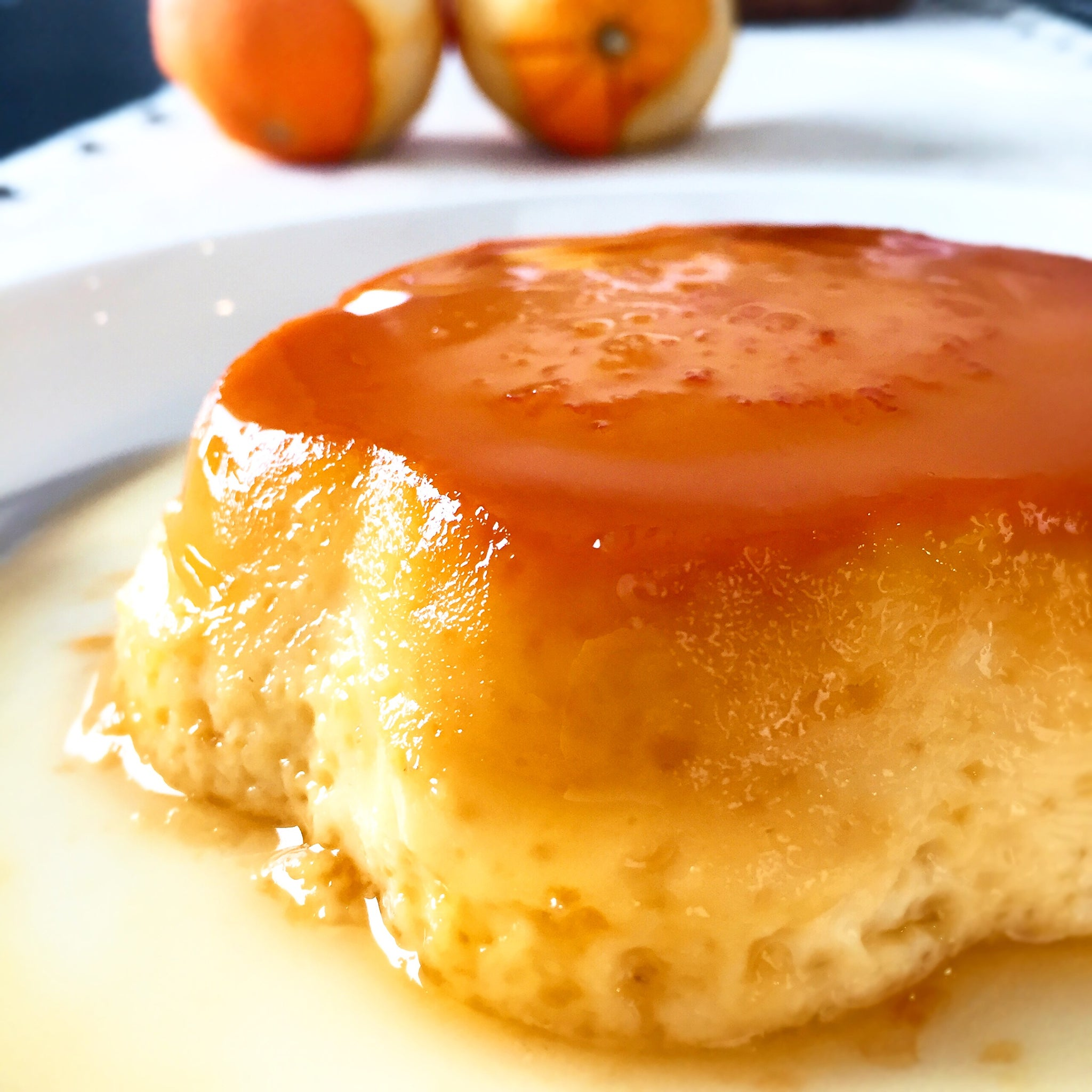 Keto//Gluten Free Orange Flan (Low Carb Orange Pudim)