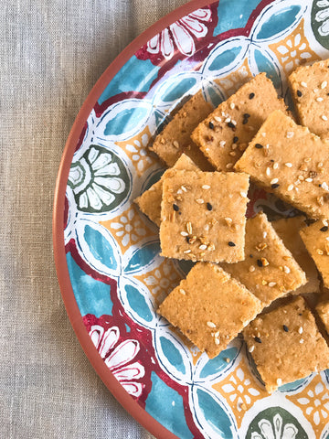 keto gluten free Crackers recipe everything but the bagel crackers