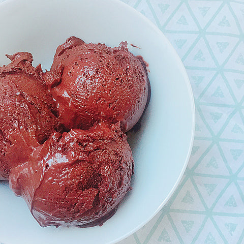 Keto sugar free diabetic friendly chocolate ice cream gelato recipe