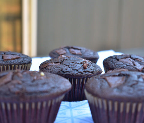 keto gluten free sugar free muffin double chocolate picture