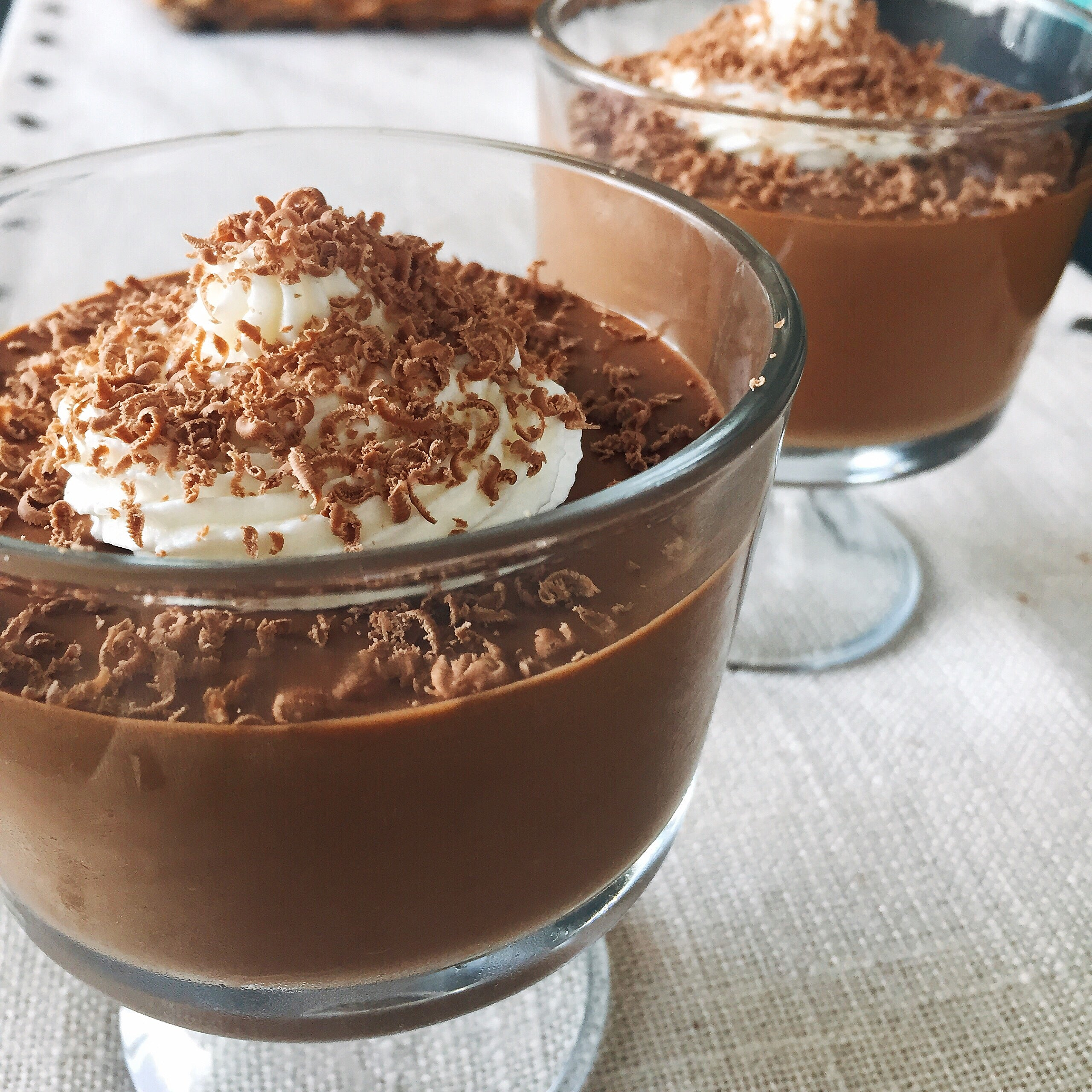 Keto Dark Chocolate Mousse
