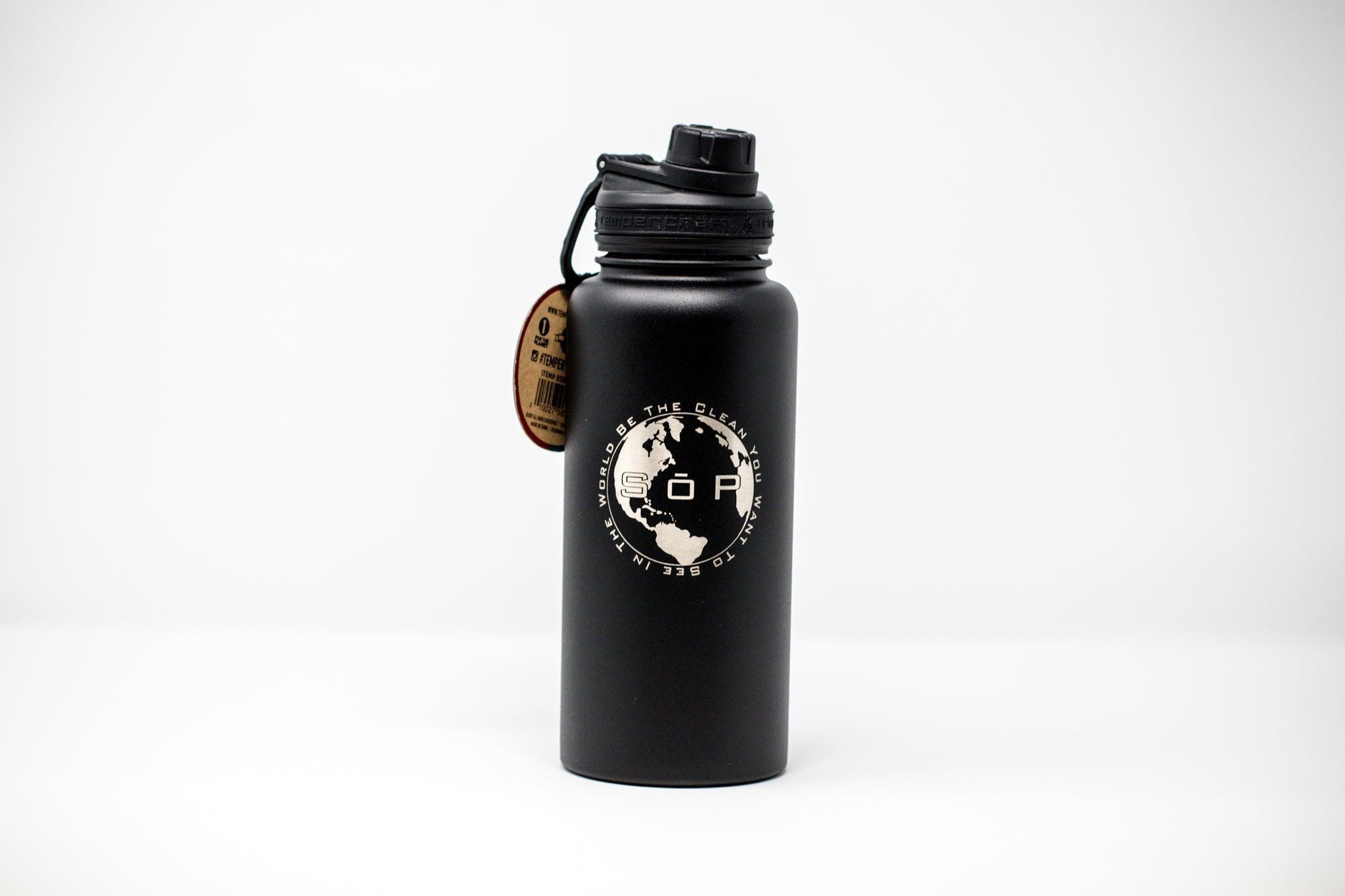 Water Bottle 32 ounces - Stainless Steel