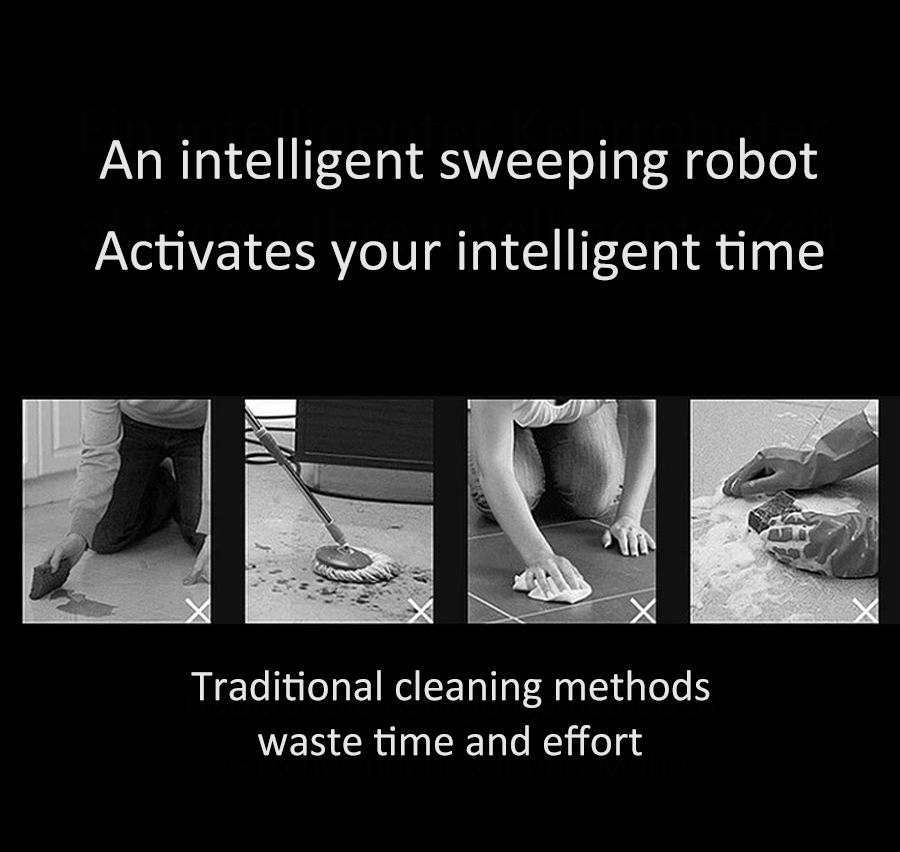 House Intelligent sweeping robot with fast charging and deep cleaning