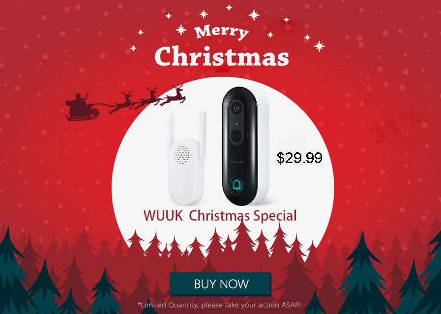 (The BEST XMAS GIFT! Special Offer Christmas Sale )The World's Most Advanced Smart Doorbell